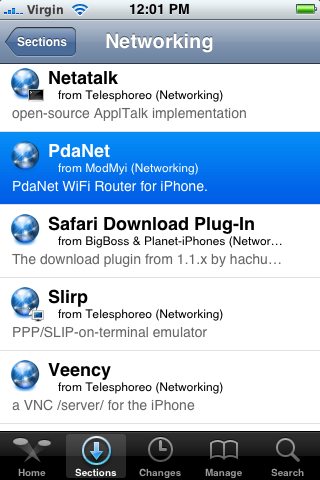 PDANet iPhone how-to guide | Tim's technology and design blog