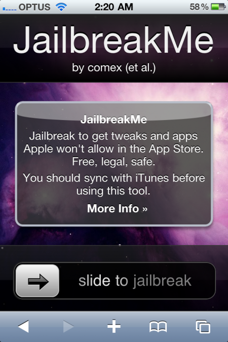 iPhone 4, iOS 4 jailbreak
