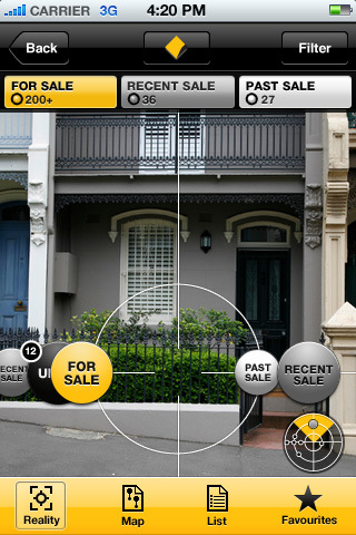 Commbank real estate iPhone app